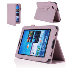 "Folio For Samsung Galaxy Tab 2  PU Leather Stand Case Cover With Stylus Pen And Screen Protector 7.0"" Tablet P3100"