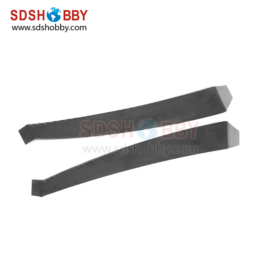 One Pair F3A Carbon Fiber Landing Gear without 3K Treatment for 91 Grade Nitro Airplanes(China (Mainland))