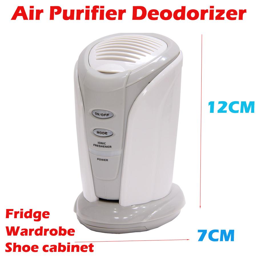 Ions Ionizer Deodorizer Fridge ozone generator filter air purifier oxygen Refrigerator Air Purifier pro fridge fresh cleaner(China (Mainland))