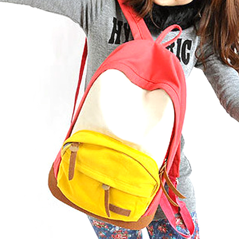 Casual Women's Bookbag TRAVEL NEW Rucksack School Bag Satchel Canvas Backpack Outdoor 5 Colors HW03042(China (Mainland))