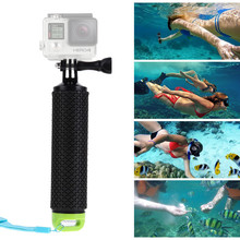 Buy Gopro Accessories Floating Handle Bar Handheld Stick Monopod Hand Grip Xiaomi Yi Action Camera GoPro Hero 4 3+3 2 for $6.98 in AliExpress store