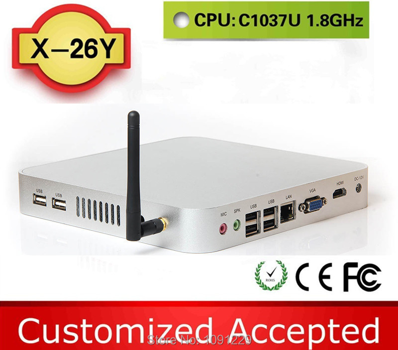 facrory competitive price cheap mini pc station thin client Ultra thin PC X-26y support WIN7, Linux, Windows 95,(China (Mainland))
