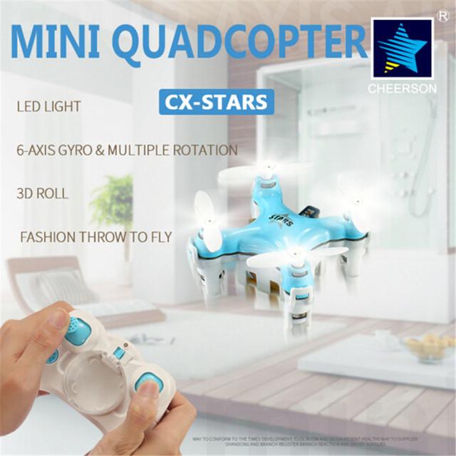 1 Шт. Новый Mini Drone Cheerson CX-Звезды Мини Quadcopter ABS Вертолет Детские Игрушки Дистанционного Управления Вертолетом