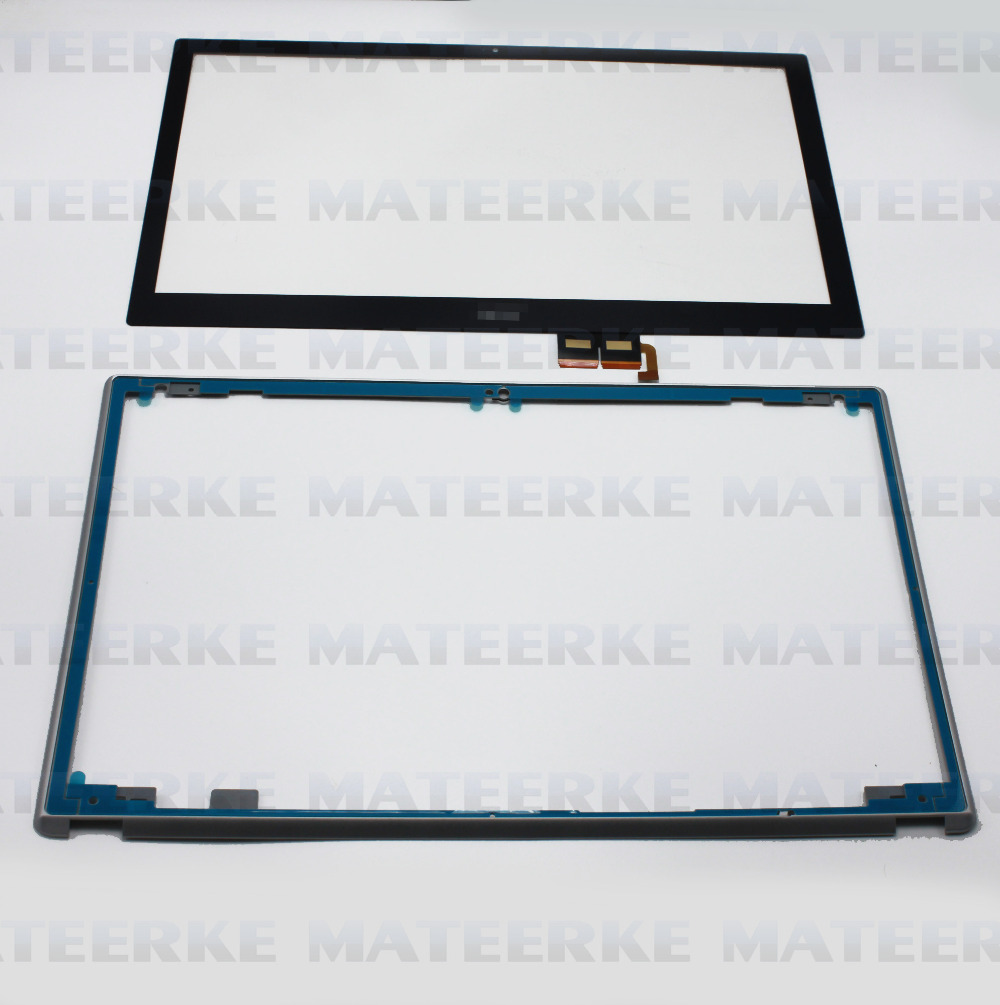 NEW 15.6 For Acer Aspire V5-571 V5-571P V5-571PG Touch Screen Digitizer Glass Replacement +Frame<br><br>Aliexpress