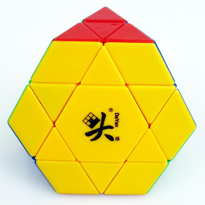 DaYan Gem VIII Plastic Magic Dice Stickerless Gem eight Academic Jigsaw Puzzle Toy for Child and Skilled cubo magico