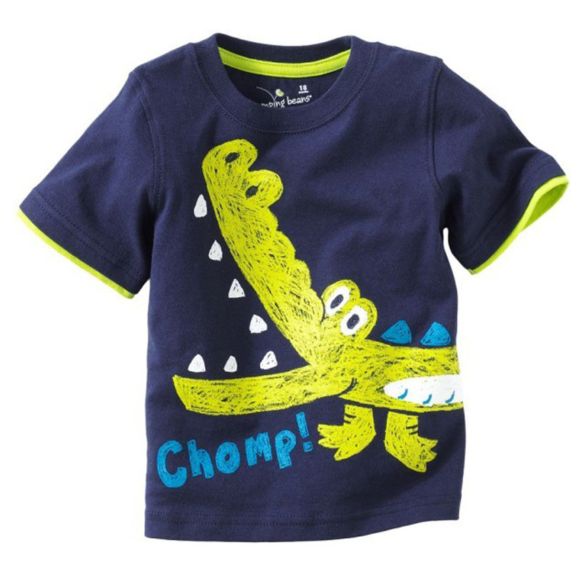 Summer Style Children T Shirt Girls Boys Clothes Clothing
