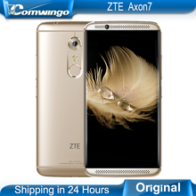 Original ZTE AXON 7 4G LTE Mobile Phone Quad Core 2.15GHz 20MP 5.5″ Hi-Fi Snapdragon 820 4GB RAM 64 /128GB ROM Android 6.0