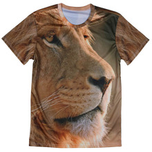 Popular Sports Joker Hawaii style Men T shirt New Style Animal 3D Round Neck tshirts Cheap