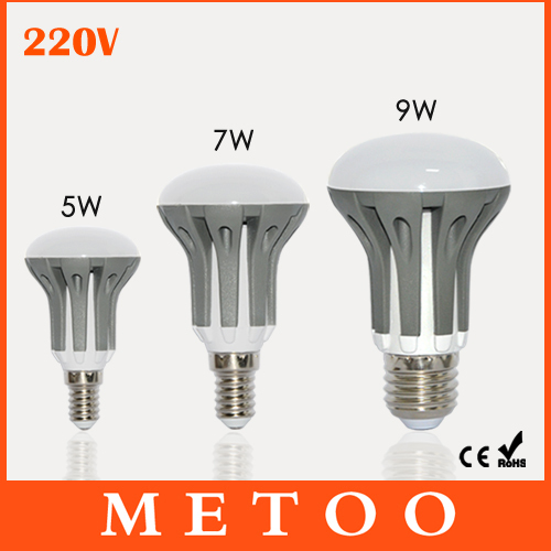 New Arrival E14 E27 LED Dimmable 5W 7W 9W lanterna Bulbs Energy Saving bright SMD 2835 led lustres 220V lamps lighting 1pcs/lot(China (Mainland))