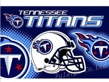 Buy Tennessee Titans Flag 3ft x 5ft Polyester NFL Tennessee Titans Banner Flying Size No.4 150* 90cm for $6.49 in AliExpress store