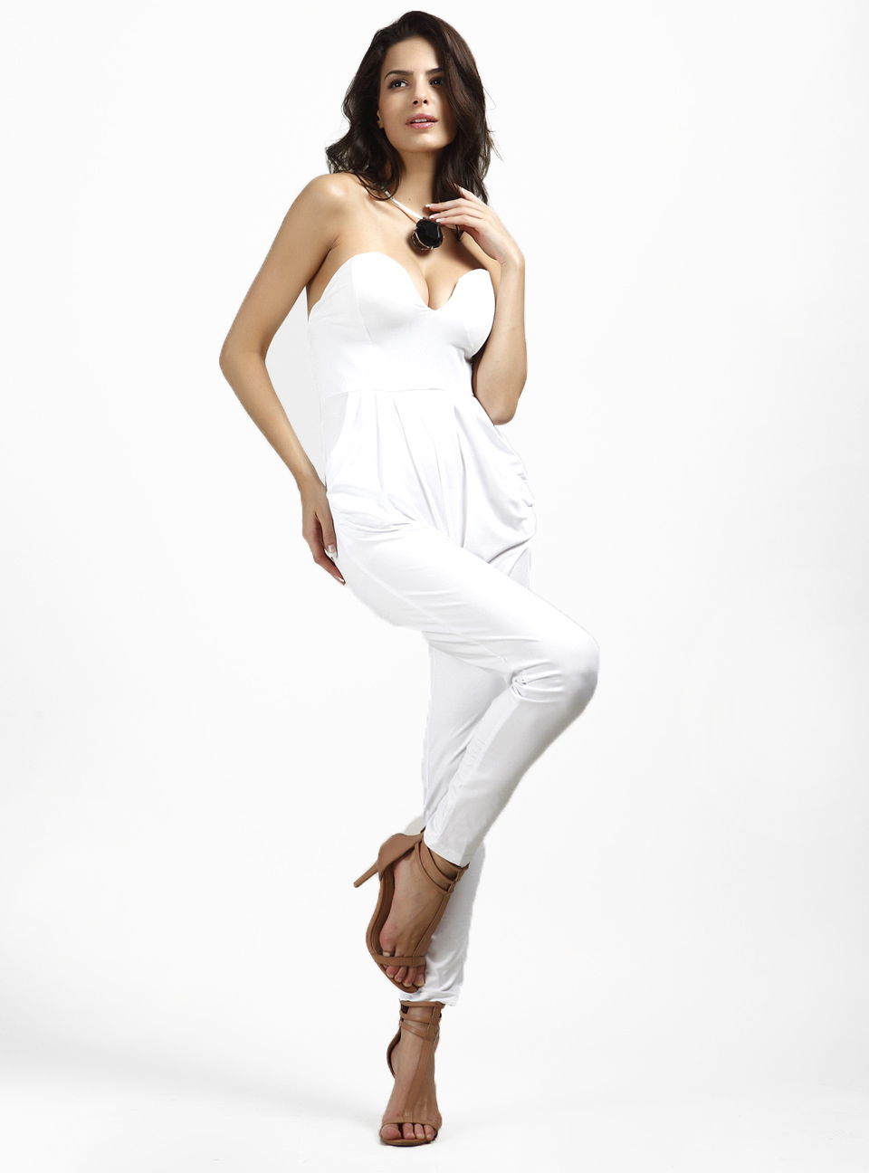 New White Jumpsuit For Women Fashion Trend White Jumpsuits For Women