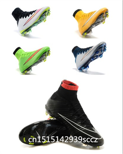 New Hot Men,HypErvenom,MercUrial,ElaStico,chuteira,MaGista,ObRa,SupErfly,Cr7,FG SG,AG,SpoRt soccer boots Free shipping 2015(China (Mainland))