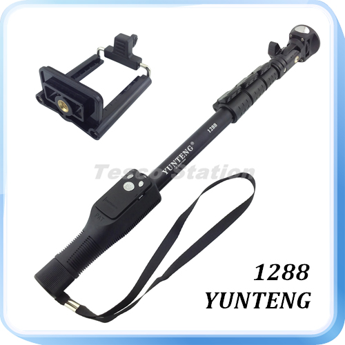 yunteng selfie stick how to connect