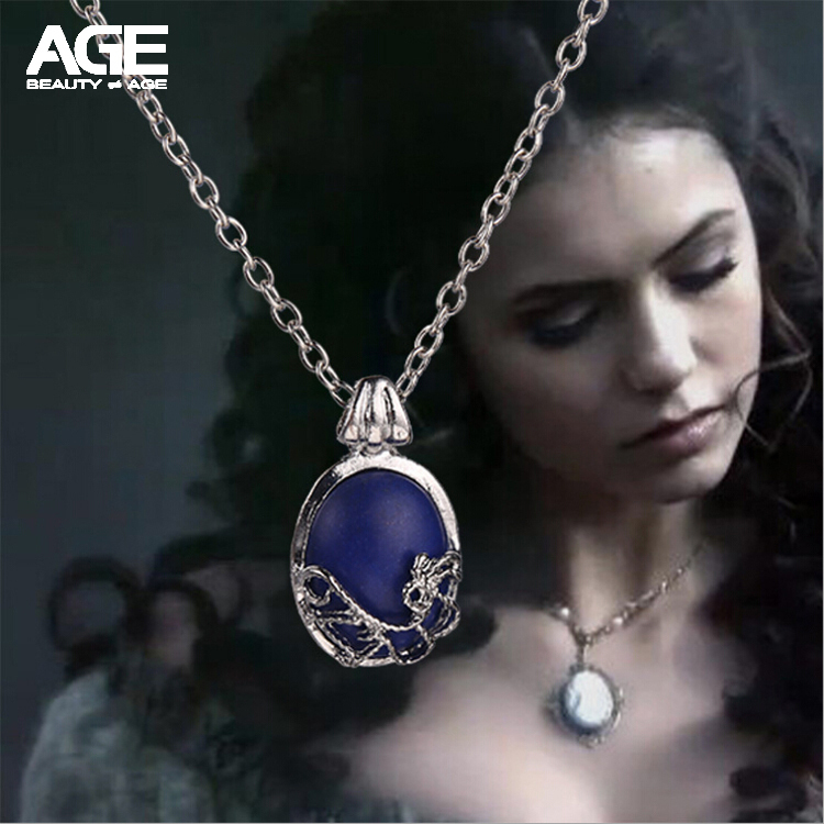 ... 2015 The Vampire Diaries Anti - soleil argenté collier <b>Catherine pierre</b> - Colliers-de-mode-pour-femmes-2015-The-Vampire-Diaries-Anti-soleil-argent%26eacute%3B-collier-Catherine-pierre-naturelle