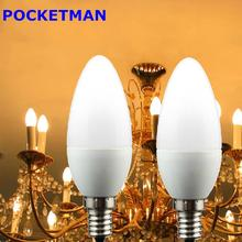 Buy 1pcs Led Candle Light Bulb E14 SMD2835 220V Energy Saving Lamp Velas Bombilla Decorativas Home Lighting Led Lamp 220V E14 Bulb for $1.05 in AliExpress store