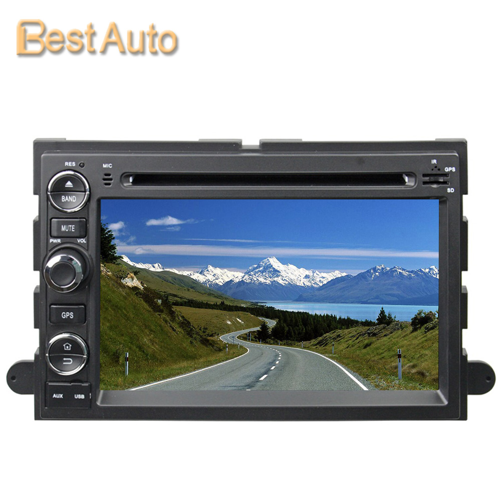 Updated WIN CE 800MHz CPU 7'' Car DVD GPS Navigation for Ford Fusion/Explorer/F150/Edge/Expedition 2006-2009 256M DDR(China (Mainland))