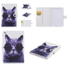 Buy HX New High Luxury Cute Cover Apple iPad mini4 Beautiful OWI Cat Stand PU Leather Case ipad mini 4 Tablet PC for $9.89 in AliExpress store
