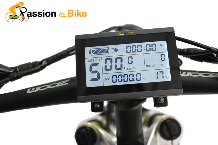 pasion ebike 24V 36V 48V intelligent LCD3 Control Panel Display Electric Bicycle bike Parts - Pasion eBike store