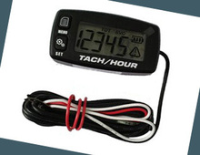 waterproof Digital Resettable Inductive Tacho Hour Meter Tachometer For Motorcycle Marine Boat ATV Snowmobile Generator Mower