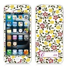 ML01 flower Luxury Sticker for Iphone 5 5S SE Screen Protector iphone5 iphone5s iphoneSE smart phones cover film