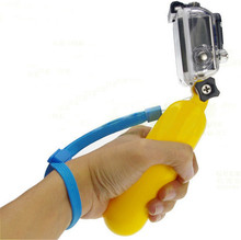 100pc DHL Free Floating Handle Grip Monopod Bobber Mount for GoPro HERO SJ4000 SJ5000 SJ6000 Xiaomi