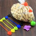 Useful 5Pcs Food Snack Seal Bag Sealing Clips Clamp Kids Kitchen Tool