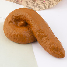 Prank Fake Poop Turd Crap Poo Gross Joke Dirty Trick Novelty Human Fun Pooper Hot Selling(China (Mainland))