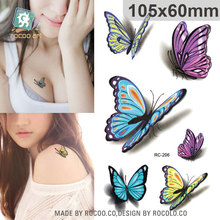 10.5x6cm New sex products Design Fashion Temporary Tattoo Stickers Temporary Body Art Waterproof Tattoo Pattern RC2206