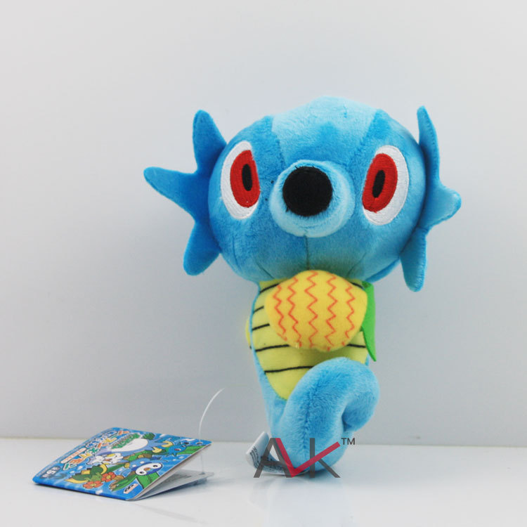 15cm Japan Anime plush toys Horsea Pokemon Plush Toys New Fashion Cartoon Plush Toys(China (Mainland))