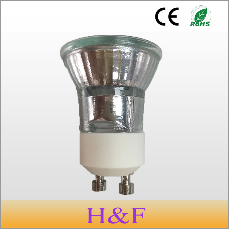 Free Shipping 5pcs/lot Dimmable 230V GU10 35W +C(35mm) Halogen Lamp Clear Warm White 2700-3000K Quartz Glass Indoor Decoration(China (Mainland))