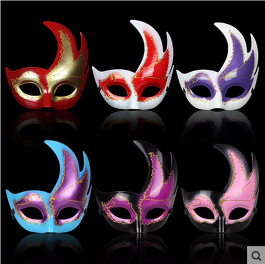 Christmas mask Halloween mask dance mask Maple Leaf(China (Mainland))