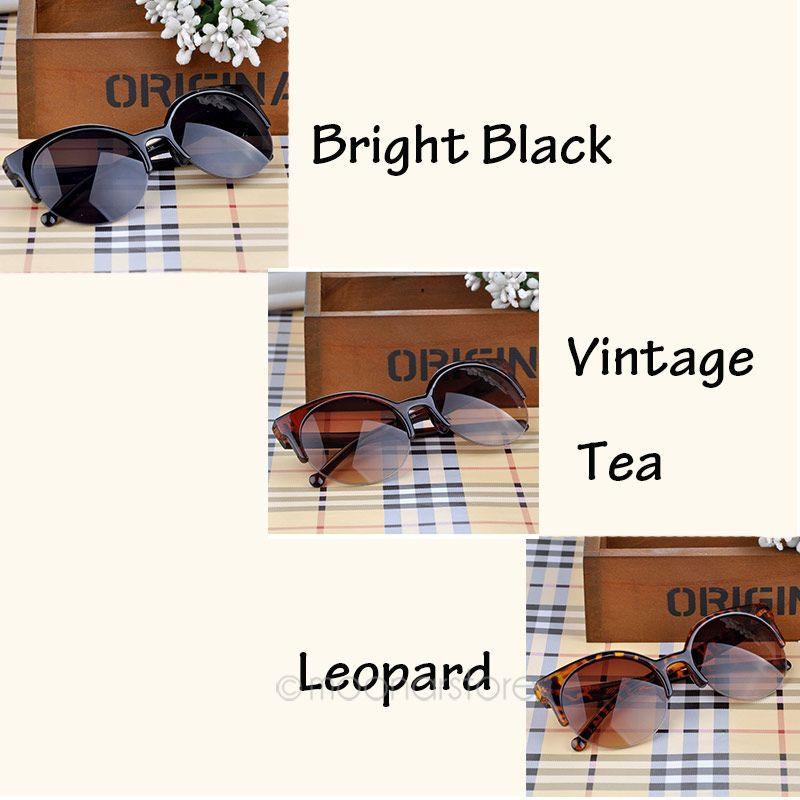 2015 NEW Vintage Retro Cat Eye Round Sunglasses Fashion Stylish
