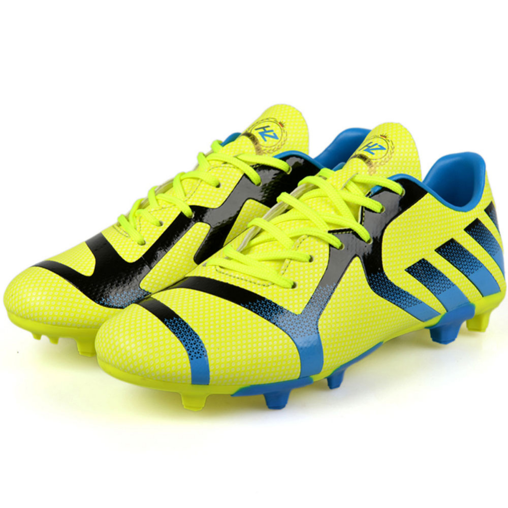 2016 Cool Professional Soccer Shoes Men Outdoor Sport Long Spikes Football Shoes For Men Athletic High Quality Sneakers Shoes<br><br>Aliexpress