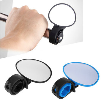 Bike Bicycle Cycling Universal Adjustable Rear View Mirror Handlebar Rearview Mirror bike accessories Flexible Safety Rearview
