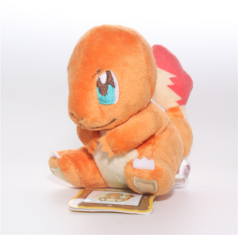 "5.5"" Pokemon Plush Toys Charmander 14cm Cute Stuffed Toy Doll For Kids Birthday/Christmas Gift(China (Mainland))"