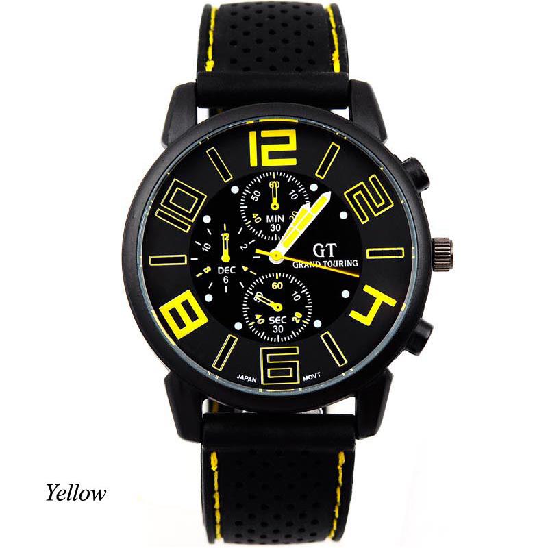 New Wrist Watch Casual Quartz watch men military Watches sport Wristwatch Dropship Silicone Fashion relogio masculino ODB SM0003(China (Mainland))