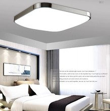Aluminum acrylic lamparas Ultra-thin LED ceiling lights