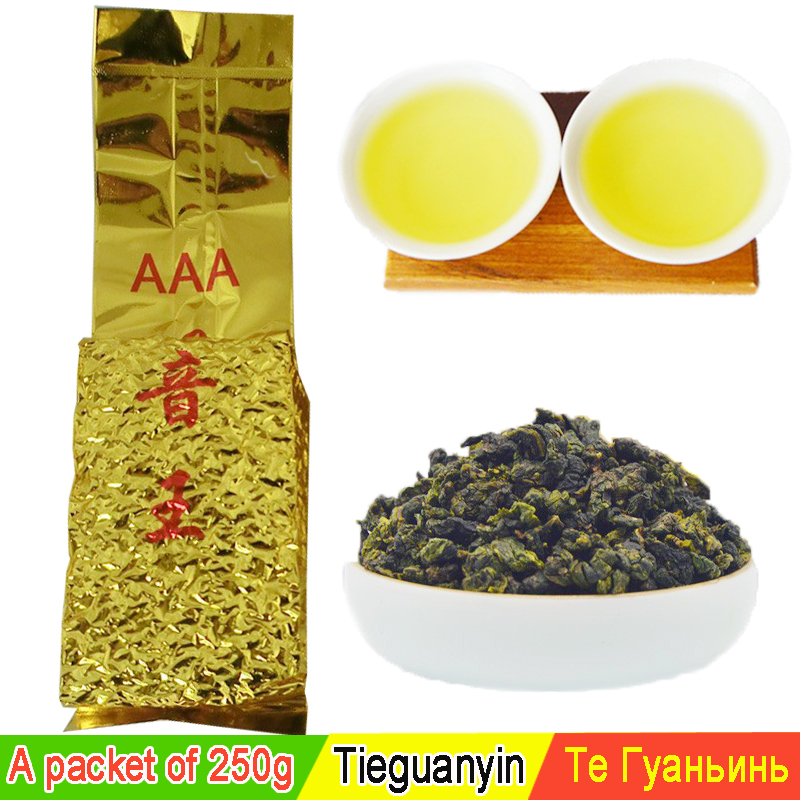 250g Top grade Chinese Oolong tea tieguanyin tea tie guan yin tea oolong the green food new health care products wholesale(China (Mainland))