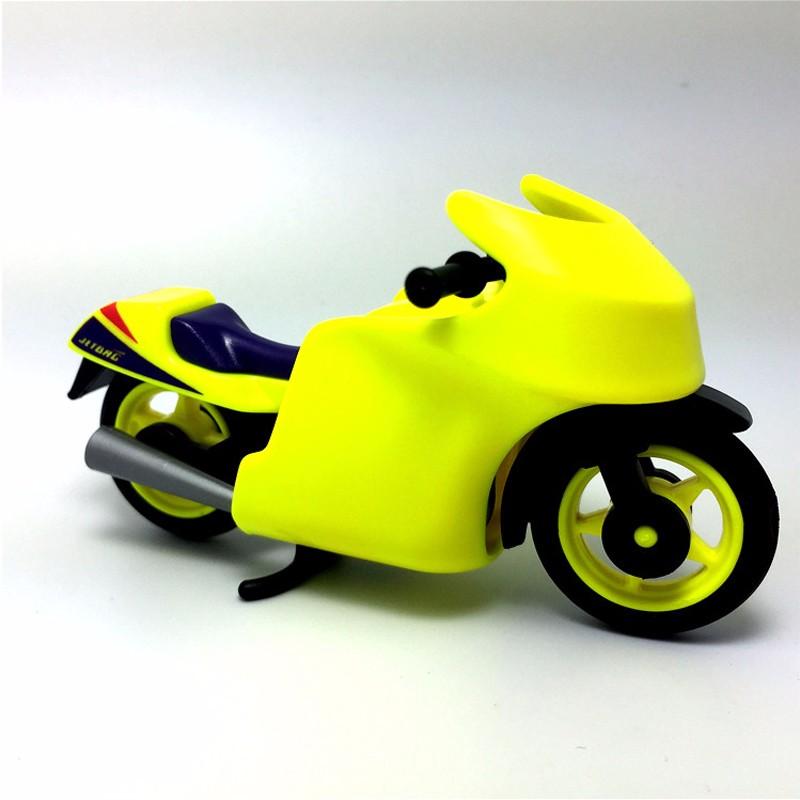 Original Playmobil Summer Fun City Life 2 Motorcycle Racing + 3 Figures Set kids Action Figure Toys Gift