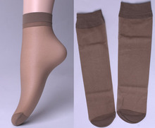(20PCS=10PAIRS=1 LOT) Lady&Girl Velvet Short Sock Crystal Silk Ultra-thin Transparent Women Short Socks Free Shipping