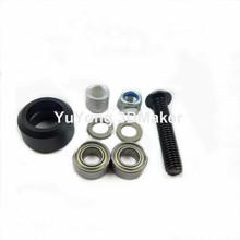 High tolerance CNC mini v wheel kits for v-slot(China (Mainland))