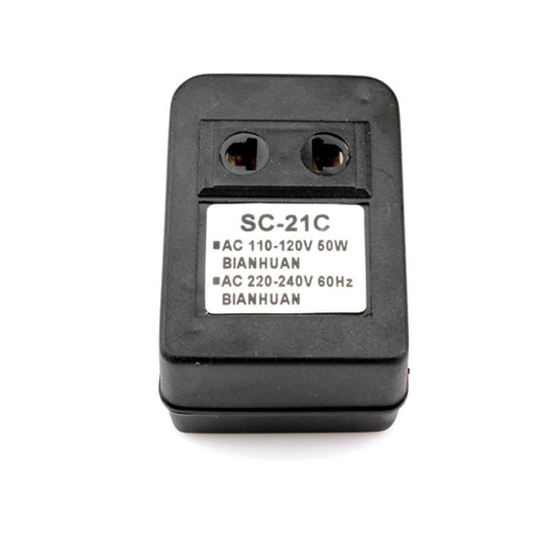 50W Step Up Voltage AC Power Converter Voltage Transformer 110V to 220V US Plug Adapter Convertor(China (Mainland))