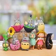 Super Cute Cartoon Hayao Miyazaki TOTORO Action Figure Toy Kids Doll Children Birthday Gifts Home Decoration