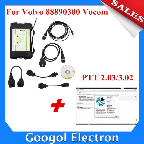 PTT 2.03/3.02 For Volvo 88890300 Vocom Interface for Volvo/Renault Truck Diagnose For Volvo Vocom 88890300 Vocom for Volvo Vcads(Hong Kong)