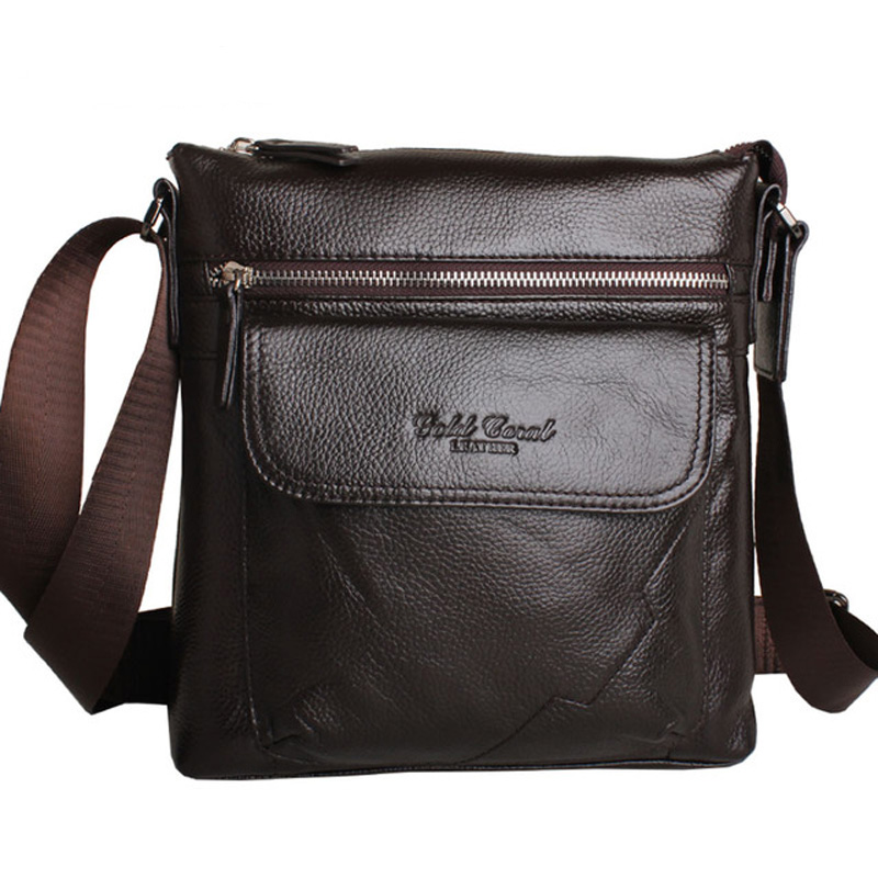 new arrive  man bag commercial cowhide male male shoulder bag casual bag<br><br>Aliexpress