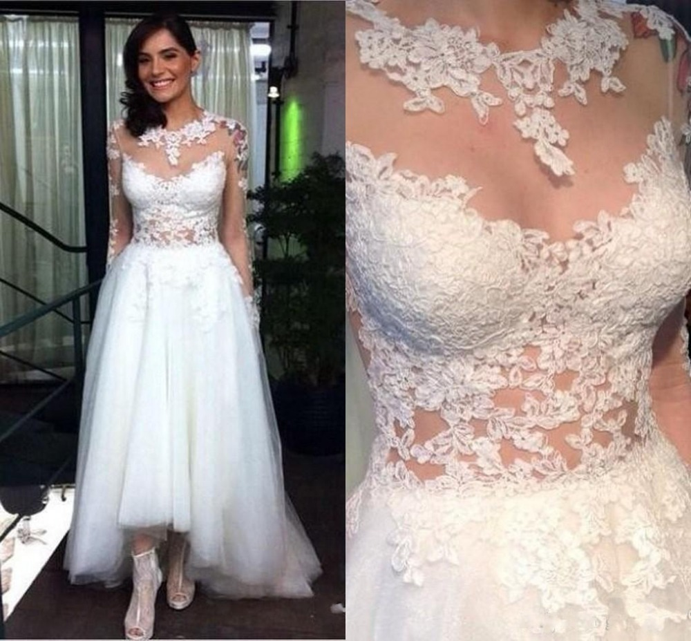 Unique Design Wedding Dresses - High Cut Wedding Dresses