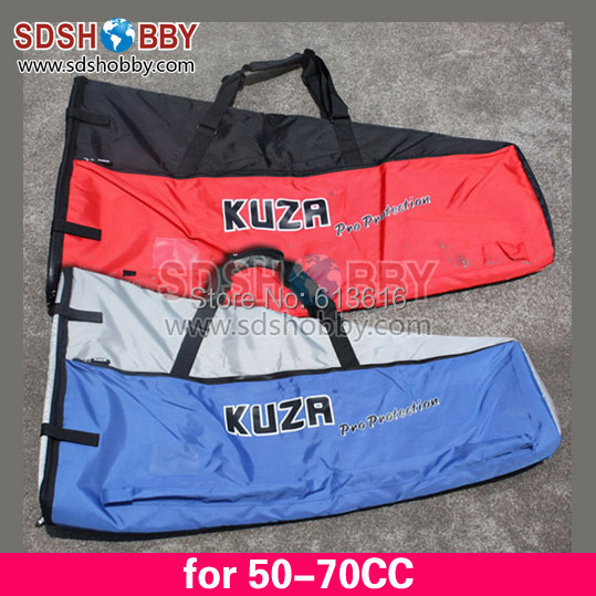 New KUZA Protection Wing Bag for 50-70CC Gasoline Airplane-Blue/ Red Color<br><br>Aliexpress