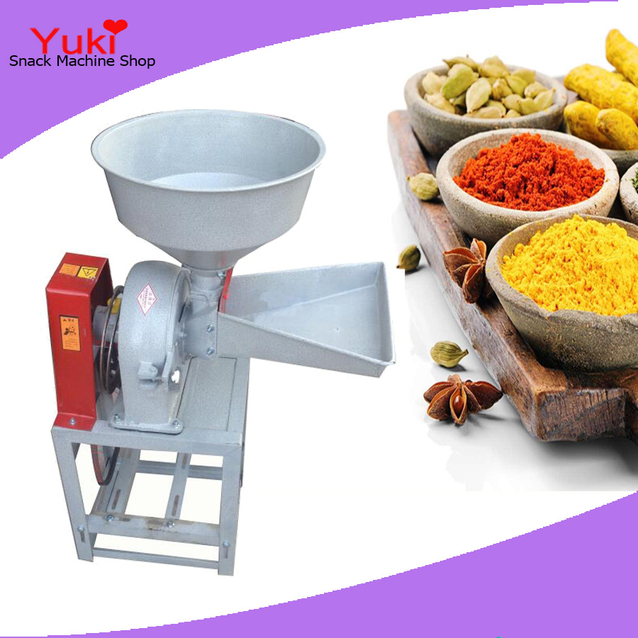 Chili Powder Making Machine Pepper Grinding Machine Industrial Spice Grinder Chinese Herbs Powder Grinder(China (Mainland))