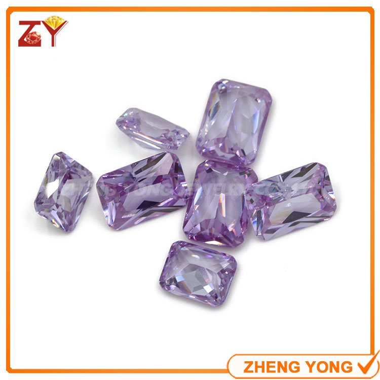 Small Size 5*3mm Rectangle Shape Princess Cut Loose White Cubic Zirconia Stones<br><br>Aliexpress