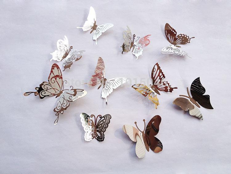 d coration murale en m tal papillon achetez des lots petit prix d coration murale en m tal. Black Bedroom Furniture Sets. Home Design Ideas